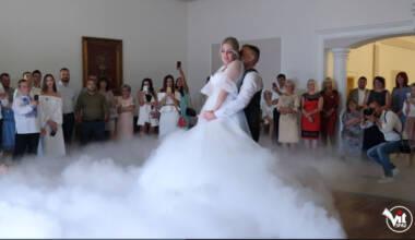 Wedding dance of brides Denys & Romana